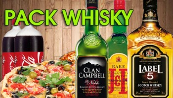 PACK WHISKY SO PIZZA